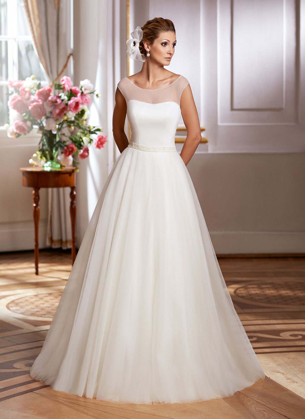 Herm&#8217;s Bridal <br> Henrietta<br>Size 12 Was £1,150 Now £400