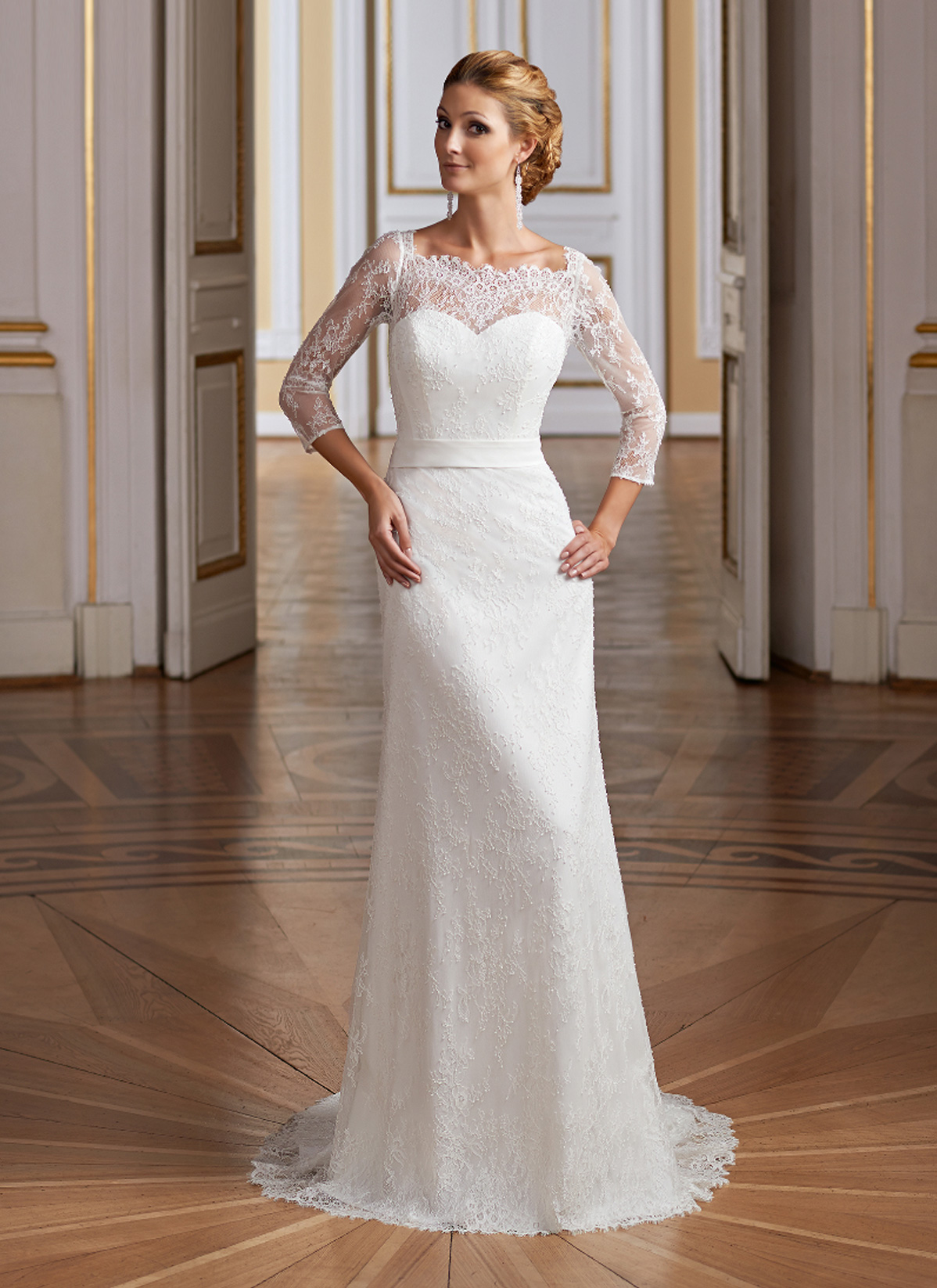 Herm&#8217;s Bridal <br> Hippy <br> Size 12 Was £1,200 Now £600