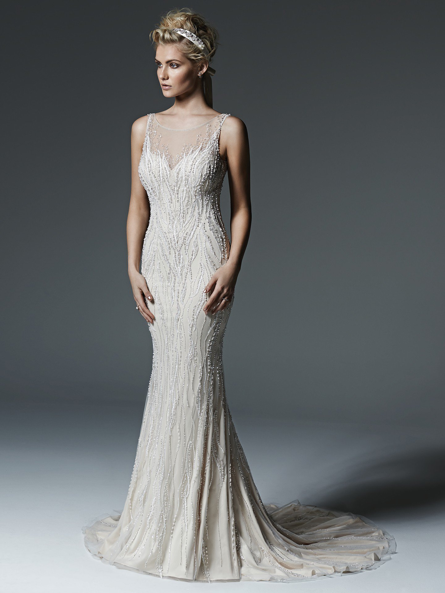 Sottero &#038; Midgley <br> Florinda <br> Size 14 Was £1,600 Now £750