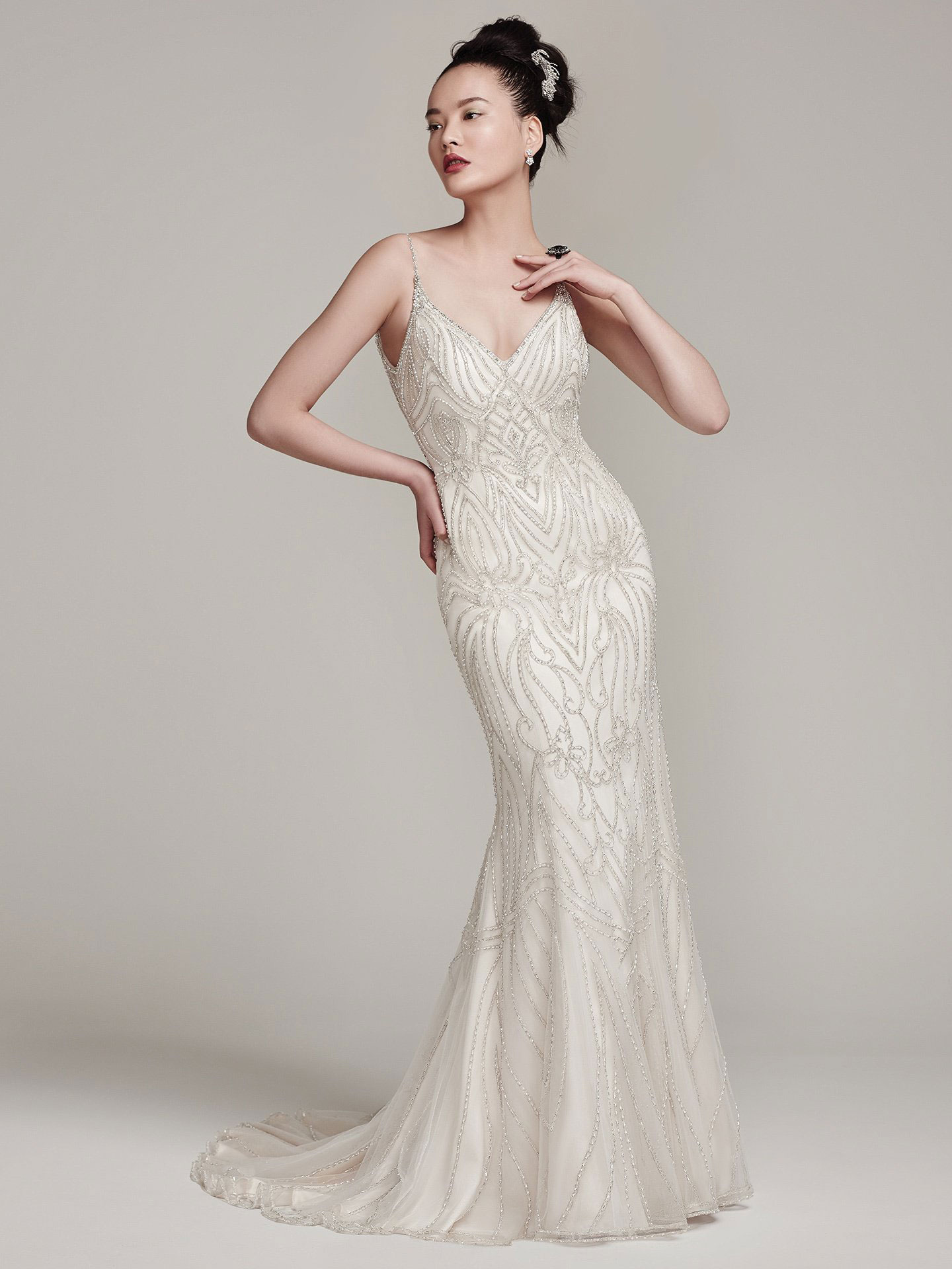Sottero &#038; Midgley <br> Mikelle<br>Size 12 Was £1,750 Now £1,000