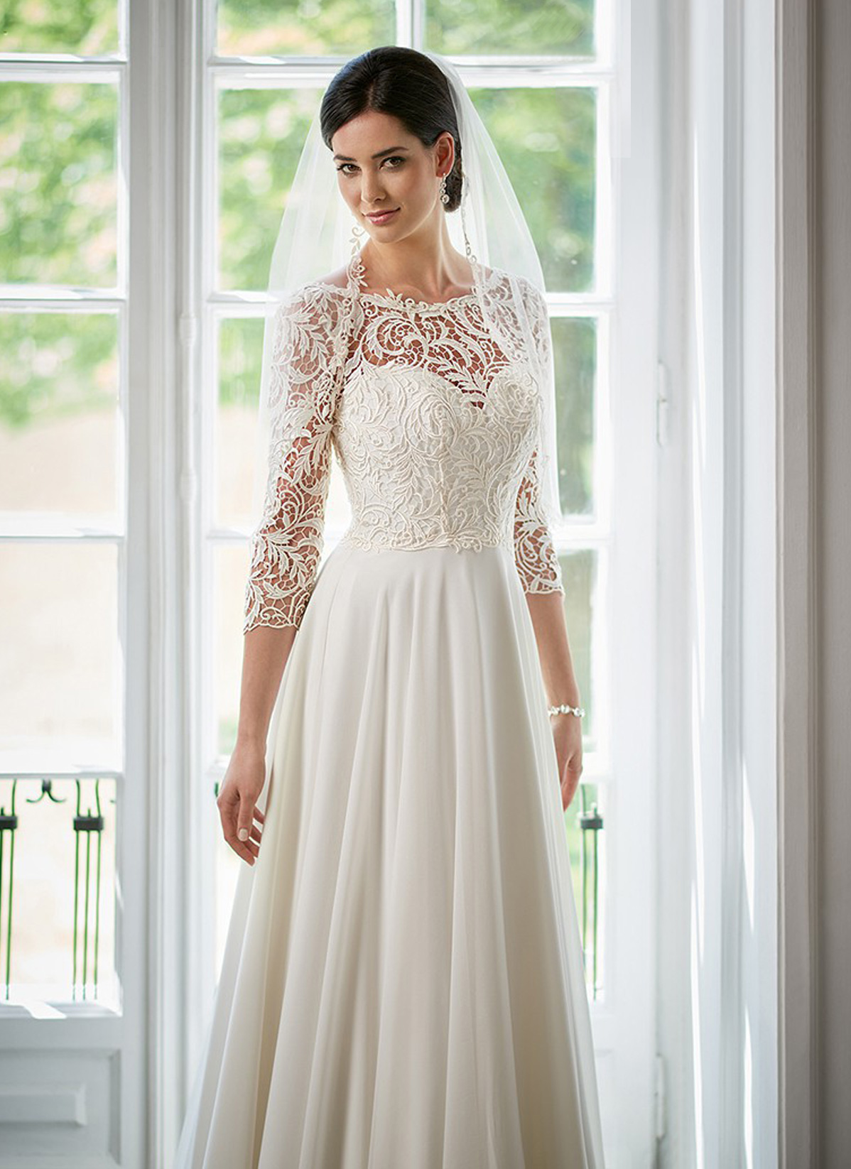 Herm&#8217;s Bridal <br> Amata