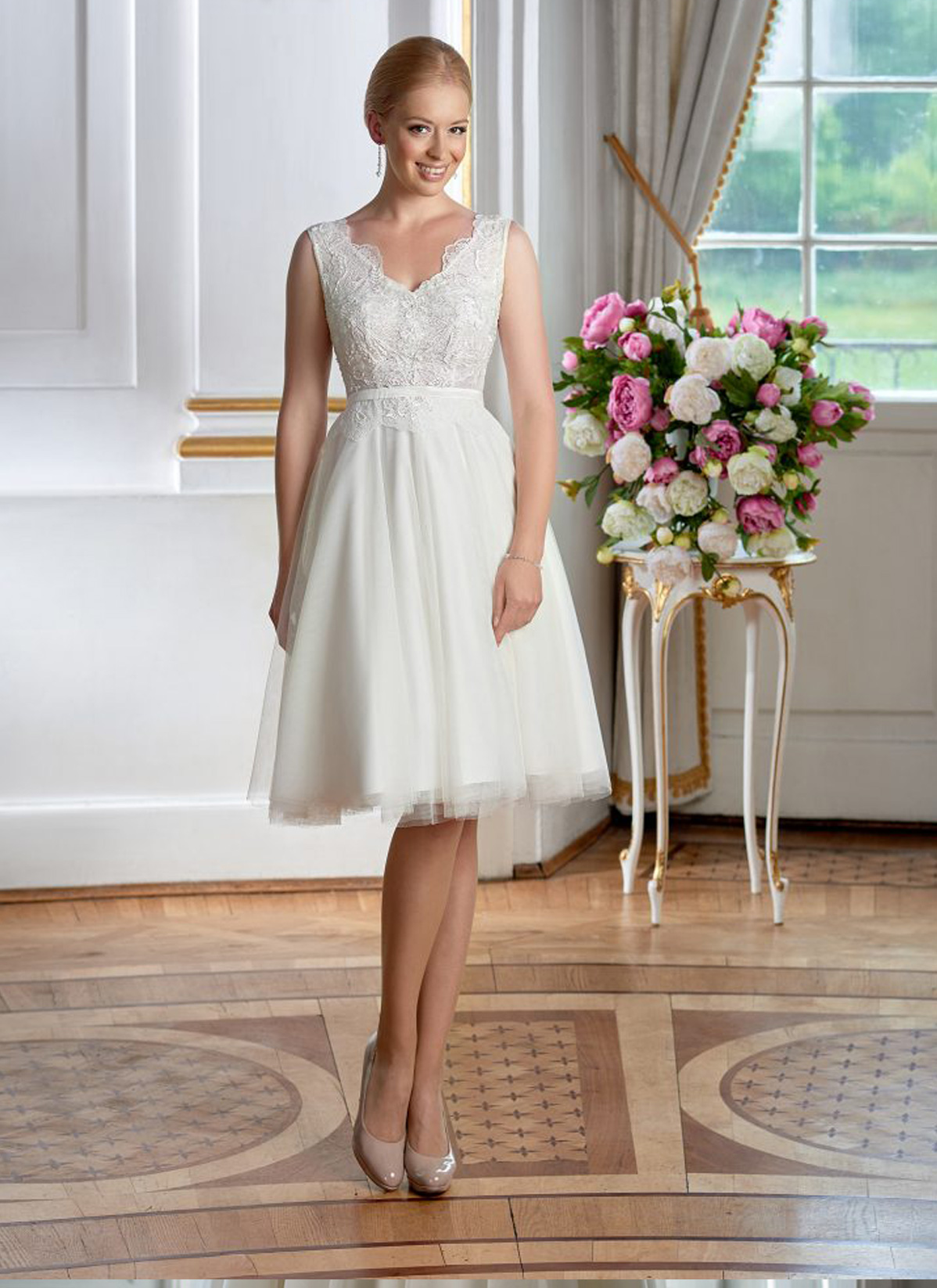 Herm&#8217;s Bridal <br> Andrea <br>Size 14 Was £1,050 Now £500