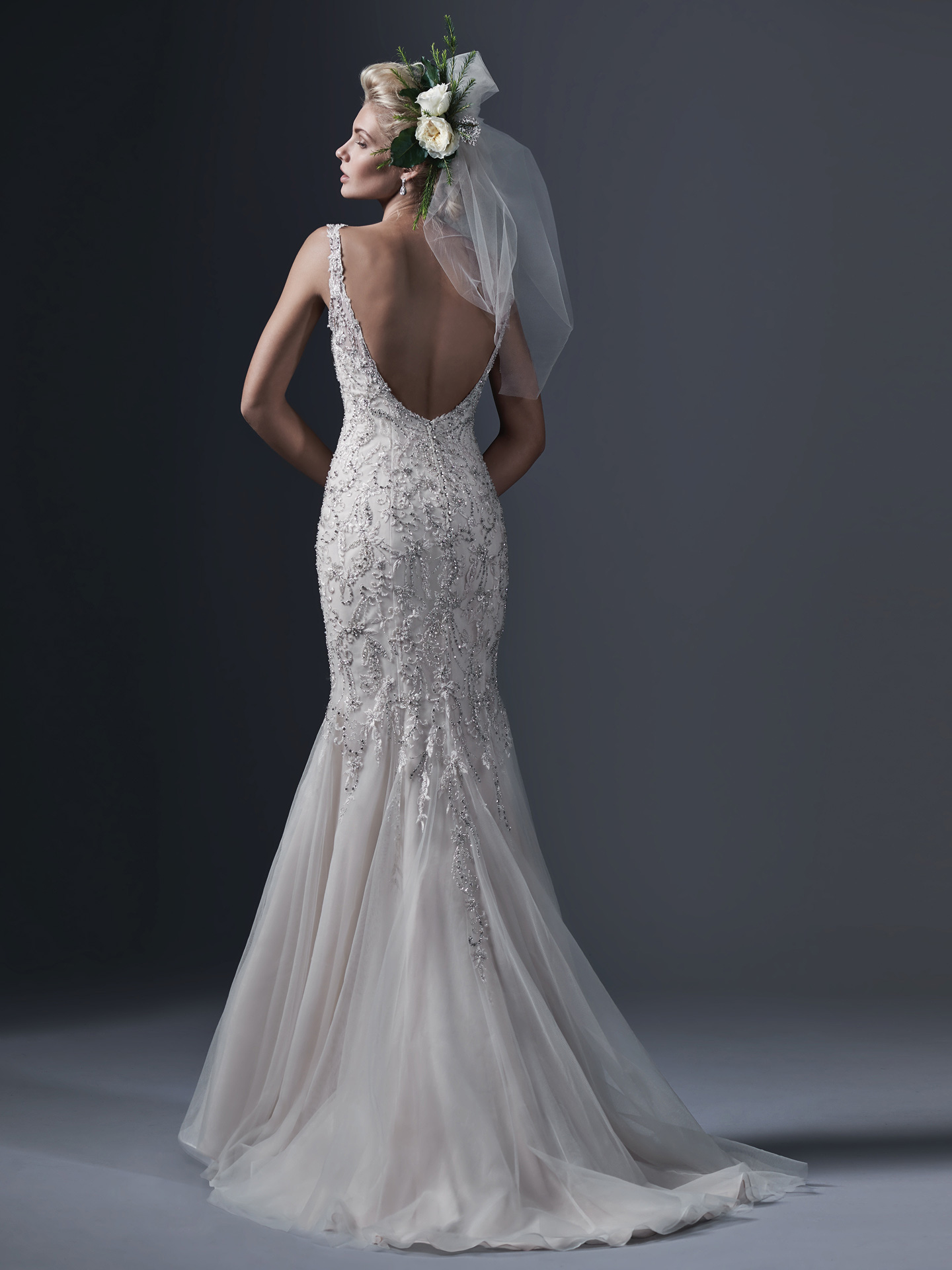 Sottero &#038; Midgley <br> Holland<br>Size 12 Was £1,695 Now £750