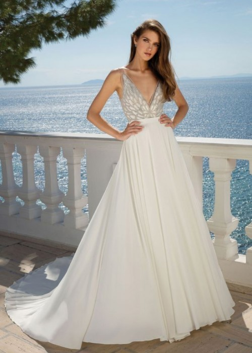 Justin Alexander <br> London <br> Size 12 Was £1,720 Now £1200