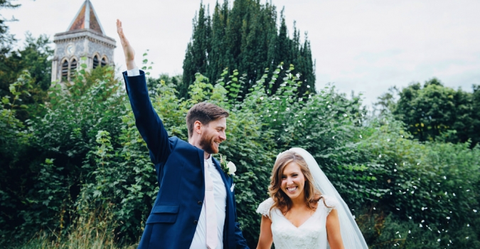 Excited to see our gorgeous Bride Clare featured in the Rock My Wedding blog wearing Buttercup by Diane Harbridge
